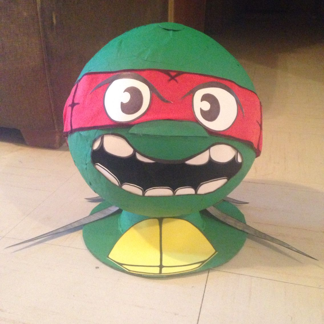 Ninja turtle head Valentine box!