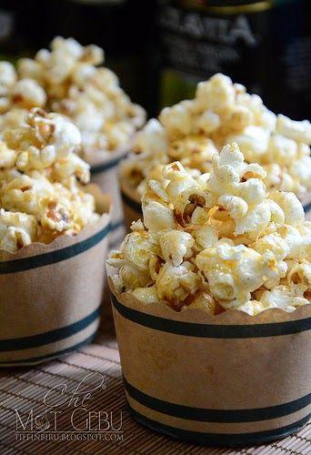 Caramel Popcorn Popcorn Dapur