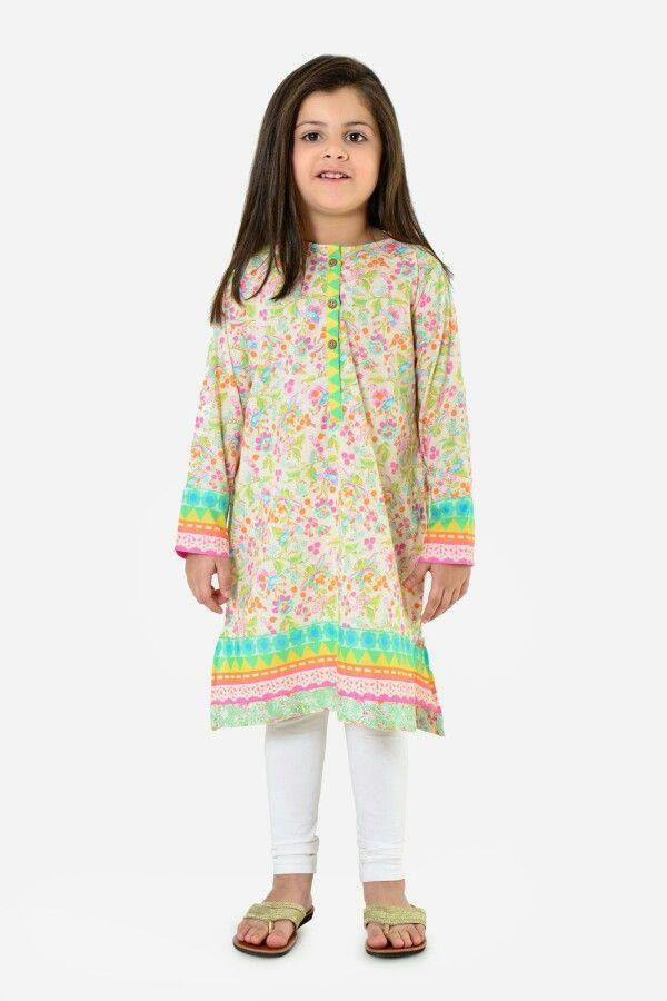 73c37588385b9 Khaadi kids pakistan | Little girl in 2019 | Dresses kids girl, Kids ...