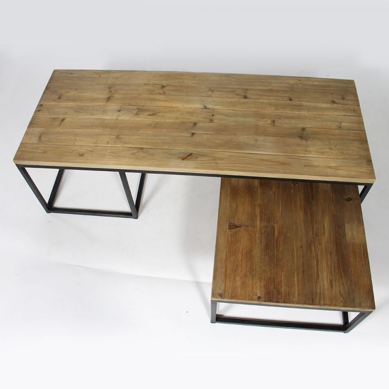 Table Basse Industrielle Gigogne Tables Basses Pinterest Table