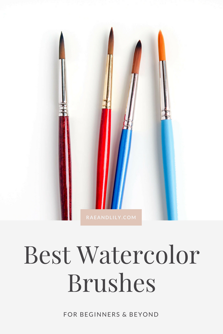 Best Watercolor Brushes For Beginners Beyond Susan Chiang Best Watercolor Brushes Watercolor Brushes Watercolor Supplies
