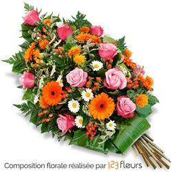 A L Occasion D Un Deuil Faites Livrer Cette Gerbe De Fleurs