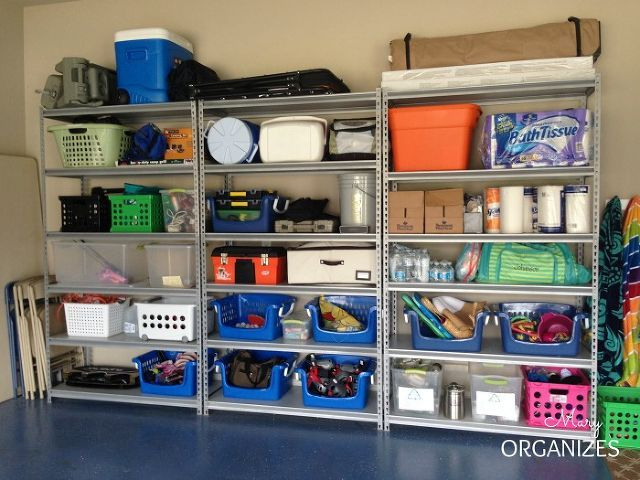 ideas for organizing garage