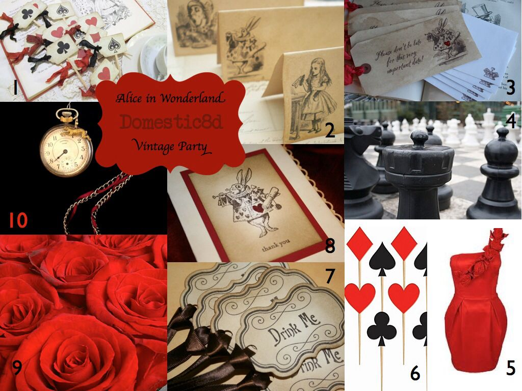 Alice in Wonderland graduation party | Party Ideas | Pinterest