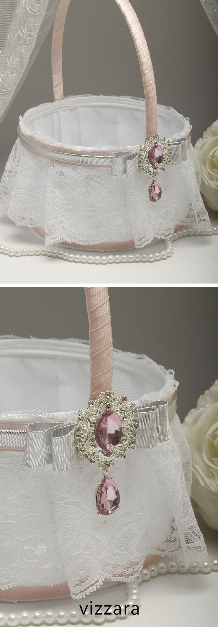 Flower Girls Basket Pink Weddings Flower Girl Basket Ideas Pink And
