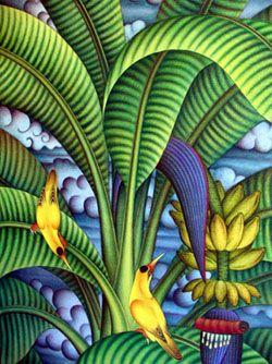 Bali Artist Singapore Art Caribbean Art Watercolor Art