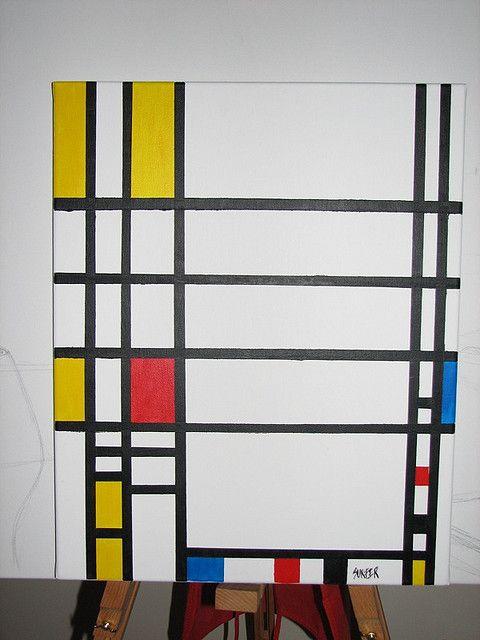 Replica Piet Mondrian
