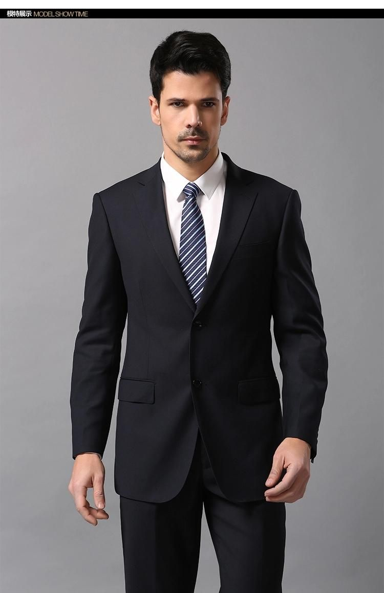 2015 new fashion Slim Fit two Button Groom Tuxedos Best man Suit ...