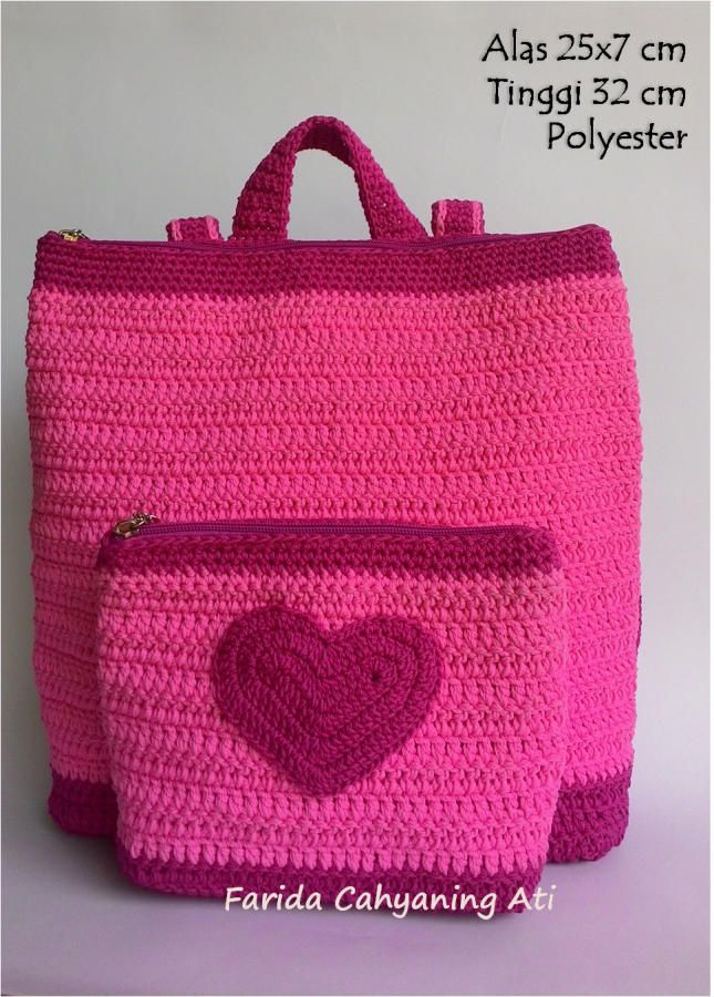 Backpack for kids by Farida Cahyaning Ati