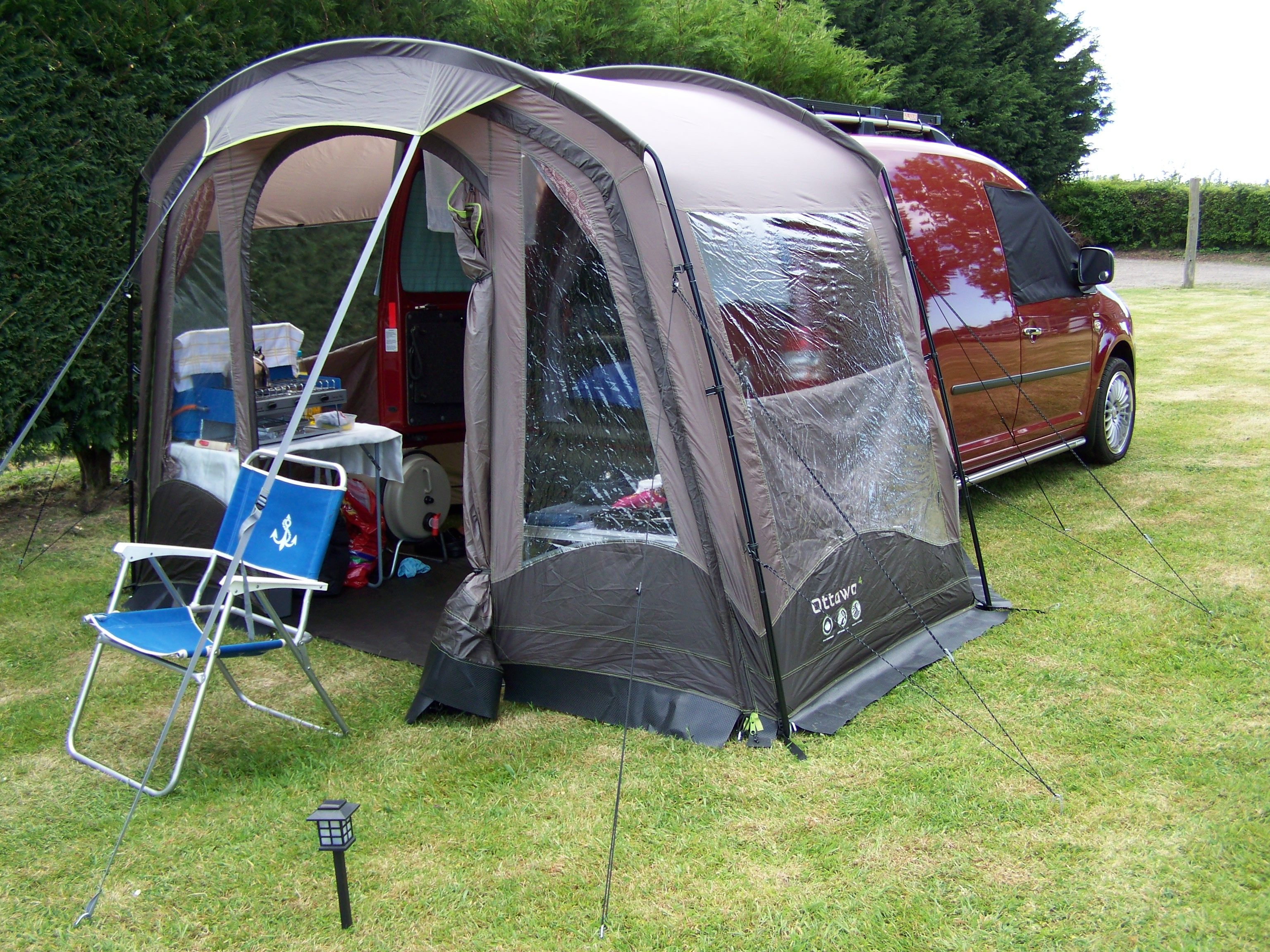 vw caddy solar camper sunnyside farm chilham kent. Black Bedroom Furniture Sets. Home Design Ideas