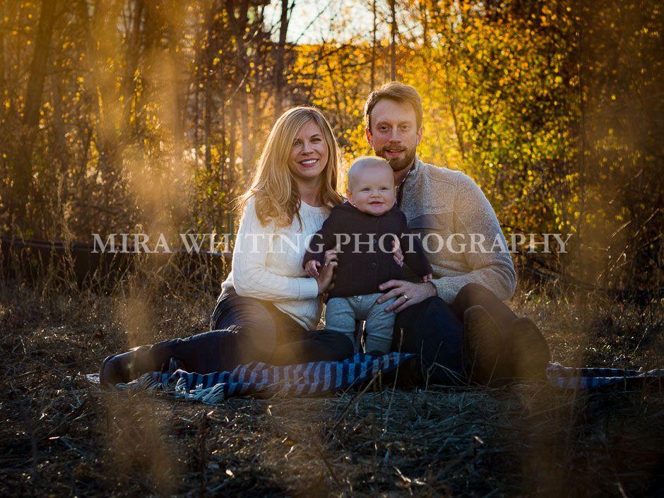 Outdoor Family Portrait | Mira Whiting Photography | Arlington, MA