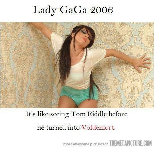 Wow.  Harry Potter / Lady Gaga joke.