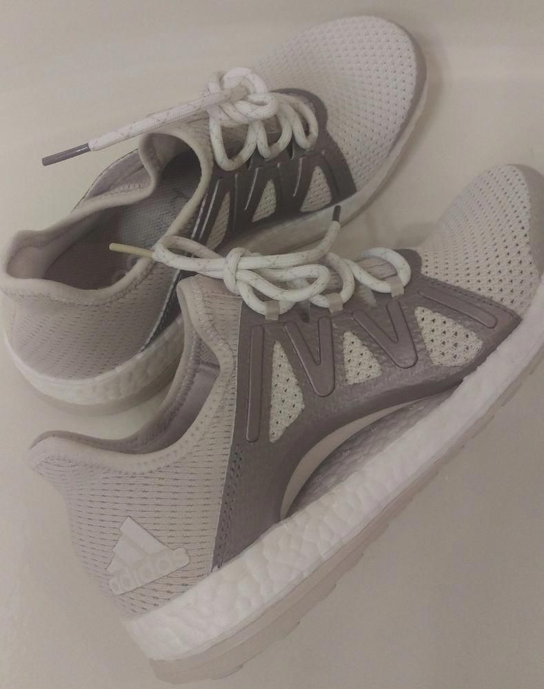 6b0057a280edb Adidas Pure boost Xpose Runing Shoe Women s White  Metallic Sneakers BB1734   140  fashion  clothing  shoes  accessories  womensshoes  athleticshoes  ad  ...