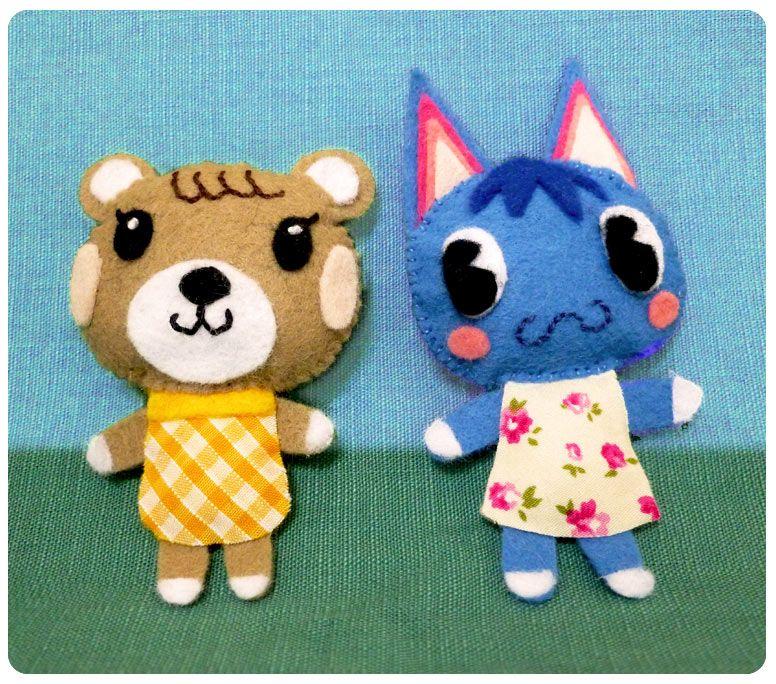 Suzie Makes Animal Crossing Felties Animal crossing