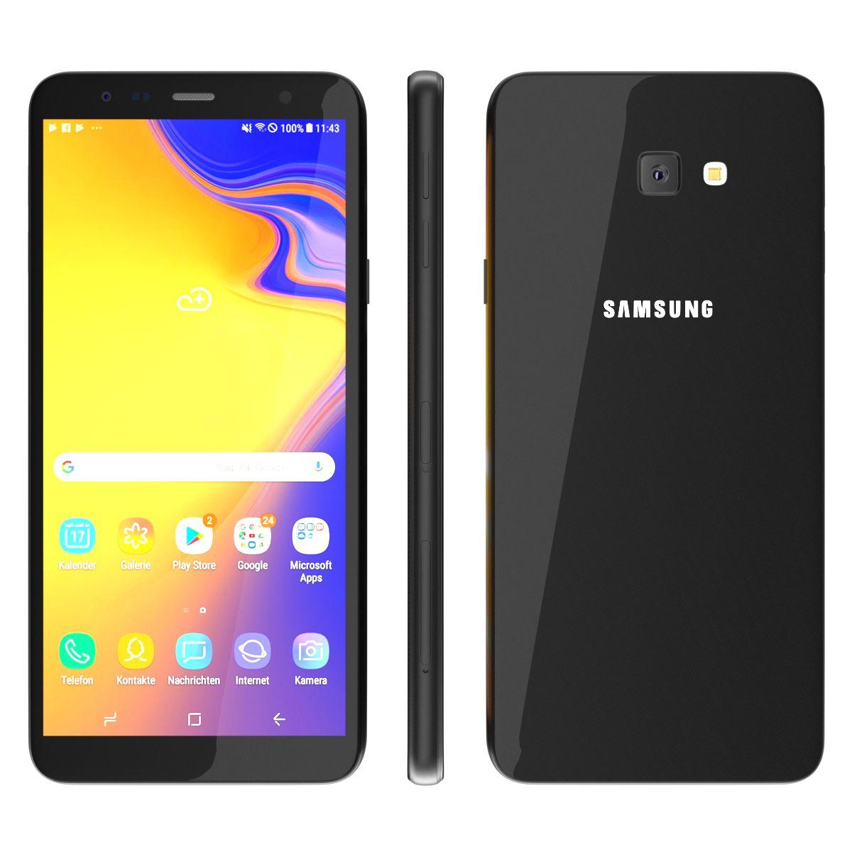 Samsung Galaxy J4 Plus 2018 Black Galaxy Samsung Black Samsung Galaxy Samsung Galaxy