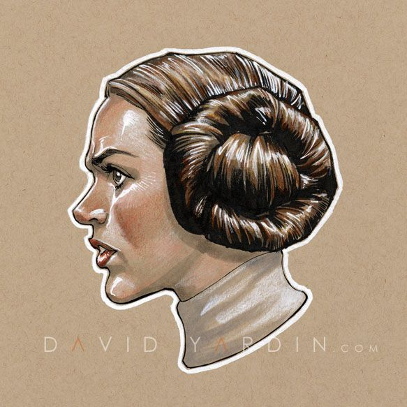Princess Leia by ~davidyardin on deviantART.