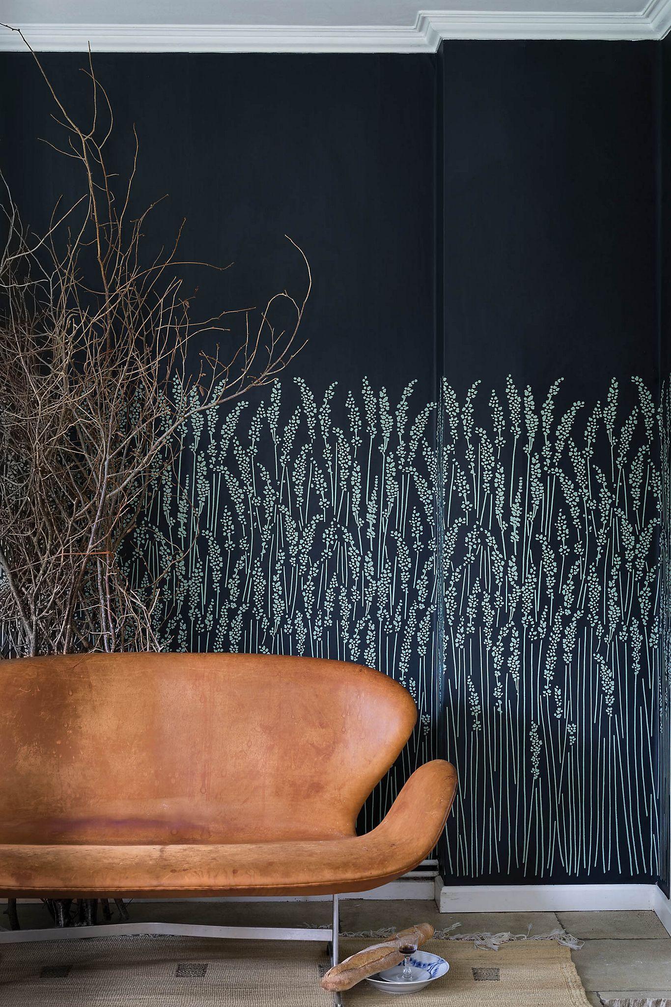 Farrow & Ball Feather Grass Wallpaper in 2020 Grass