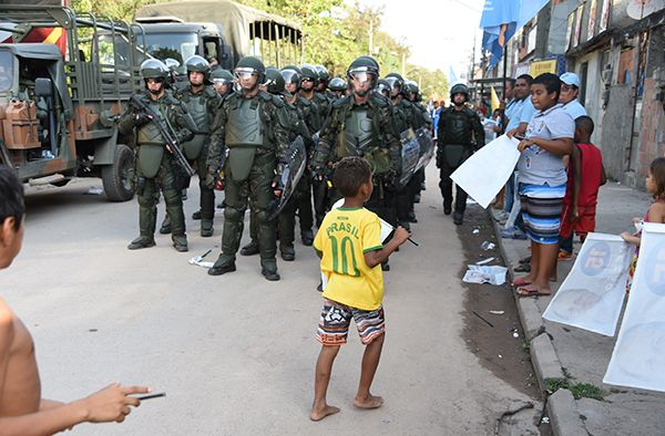 Surge in killings by police sparks fear in favelas 100 days ahead of Rio Olympics - Residents in many of Rio de Janeiro's favelas are living in terror after at least 11 people have been killed in police shootings since the beginning of April, Amnesty International warned ahead of the 100-day countdown to the Olympic Games.