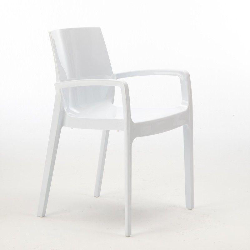22 Chaises Cream Grand Soleil Accoudoirs Restaurant Offre Stock Blanc S6617b22pz Chair Design Home Furniture Chair