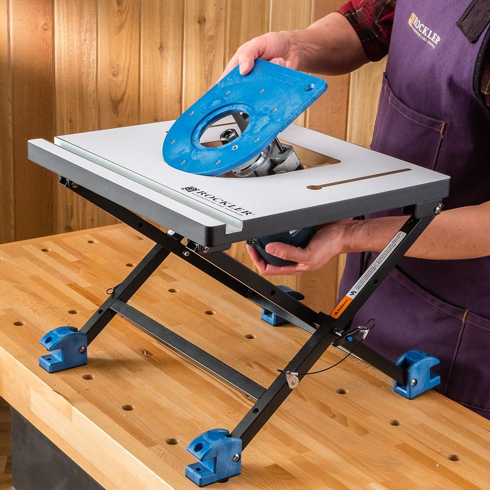 Rockler Convertible Benchtop Router Table Benchtop Router Table