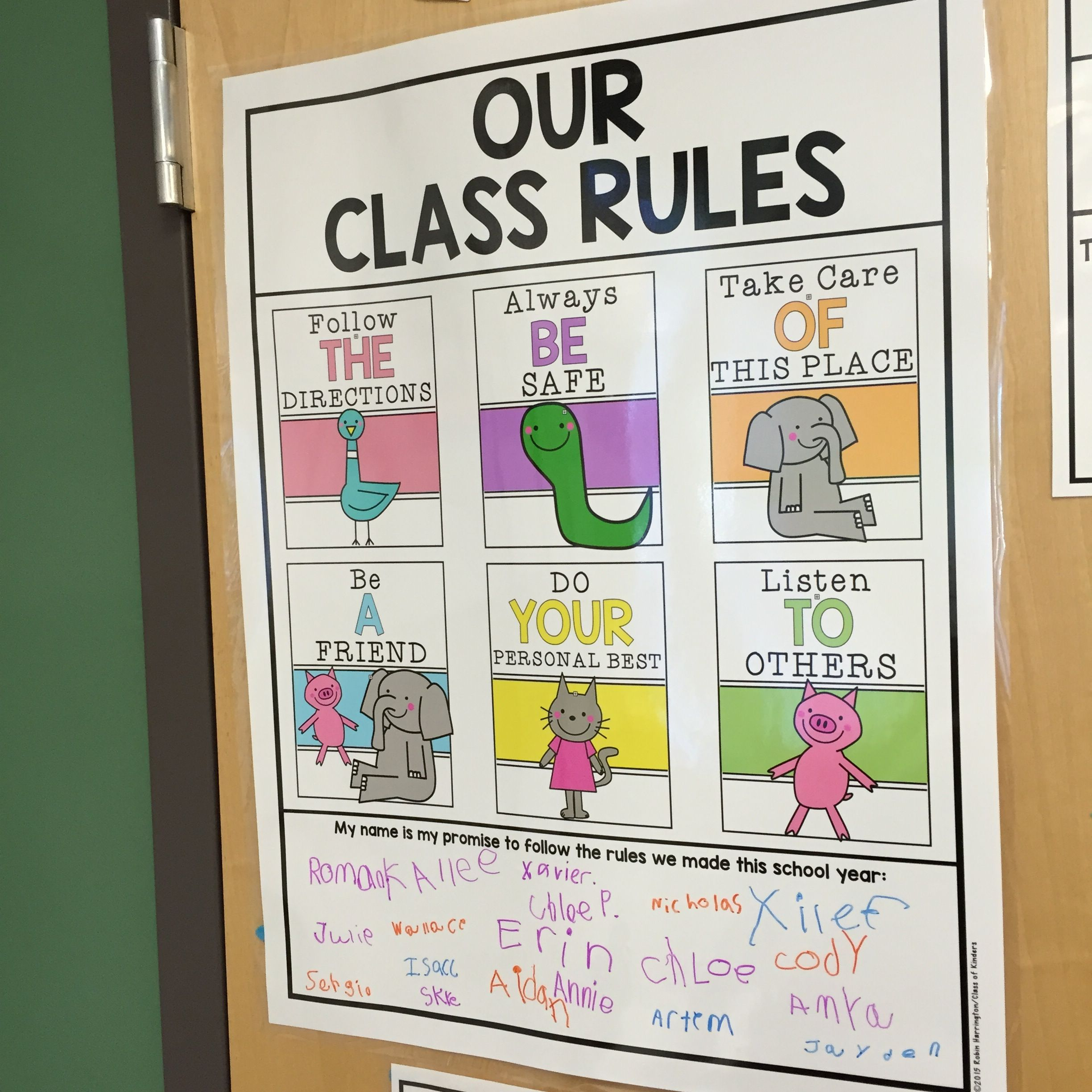 Classroom Rules Expectations Posters For Back To School