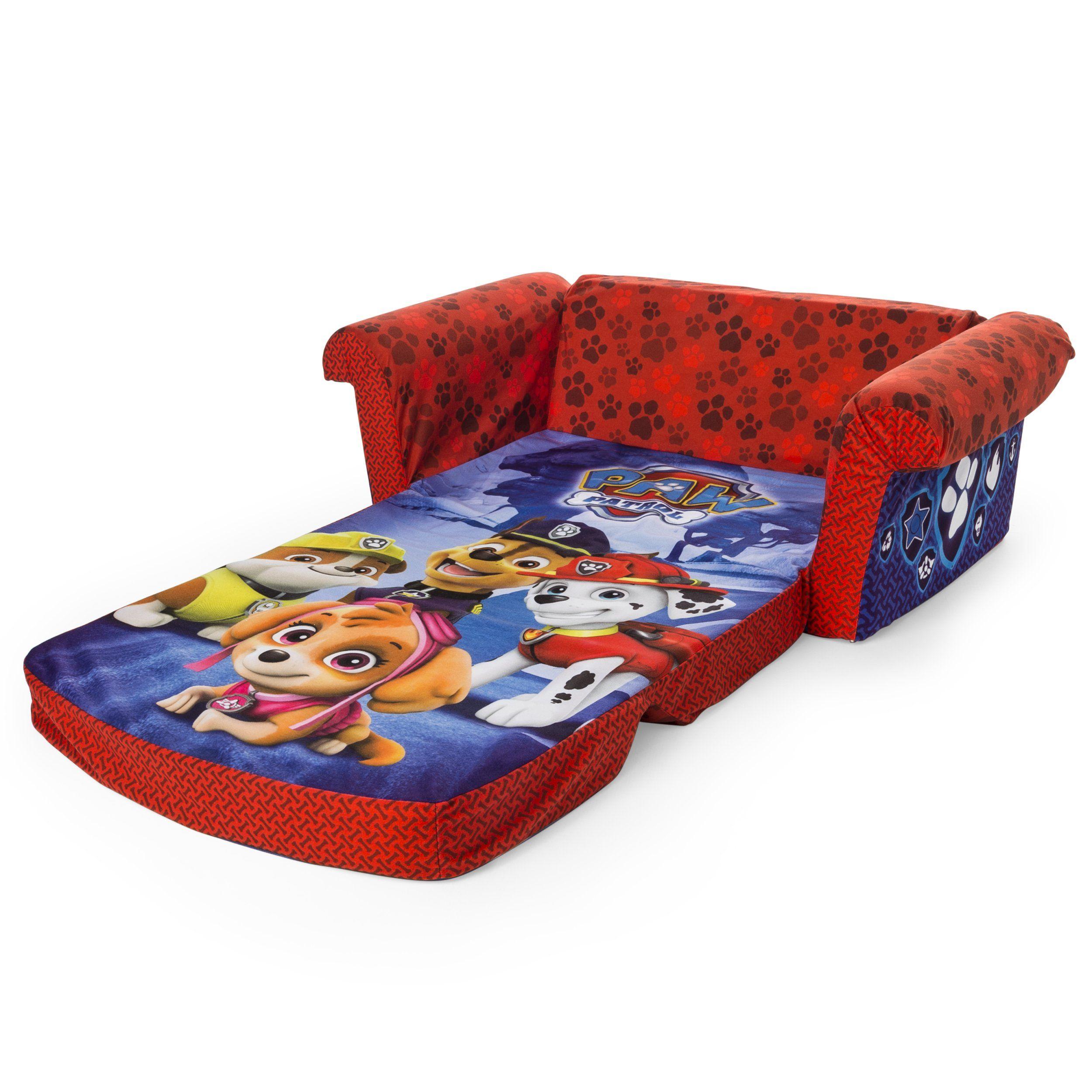 Marshmallow Furniture Childrens 2 in 1 Flip Open Foam Sofa ...