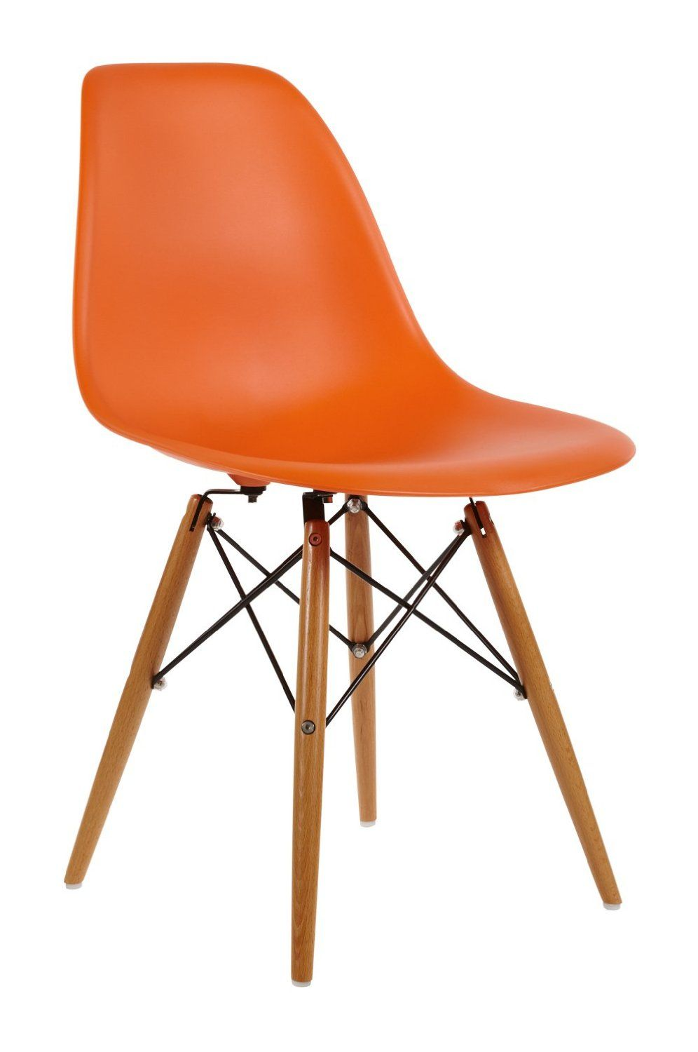 Charles eames style dsw dining chair abs plastic - Amazon bedroom chairs and stools ...
