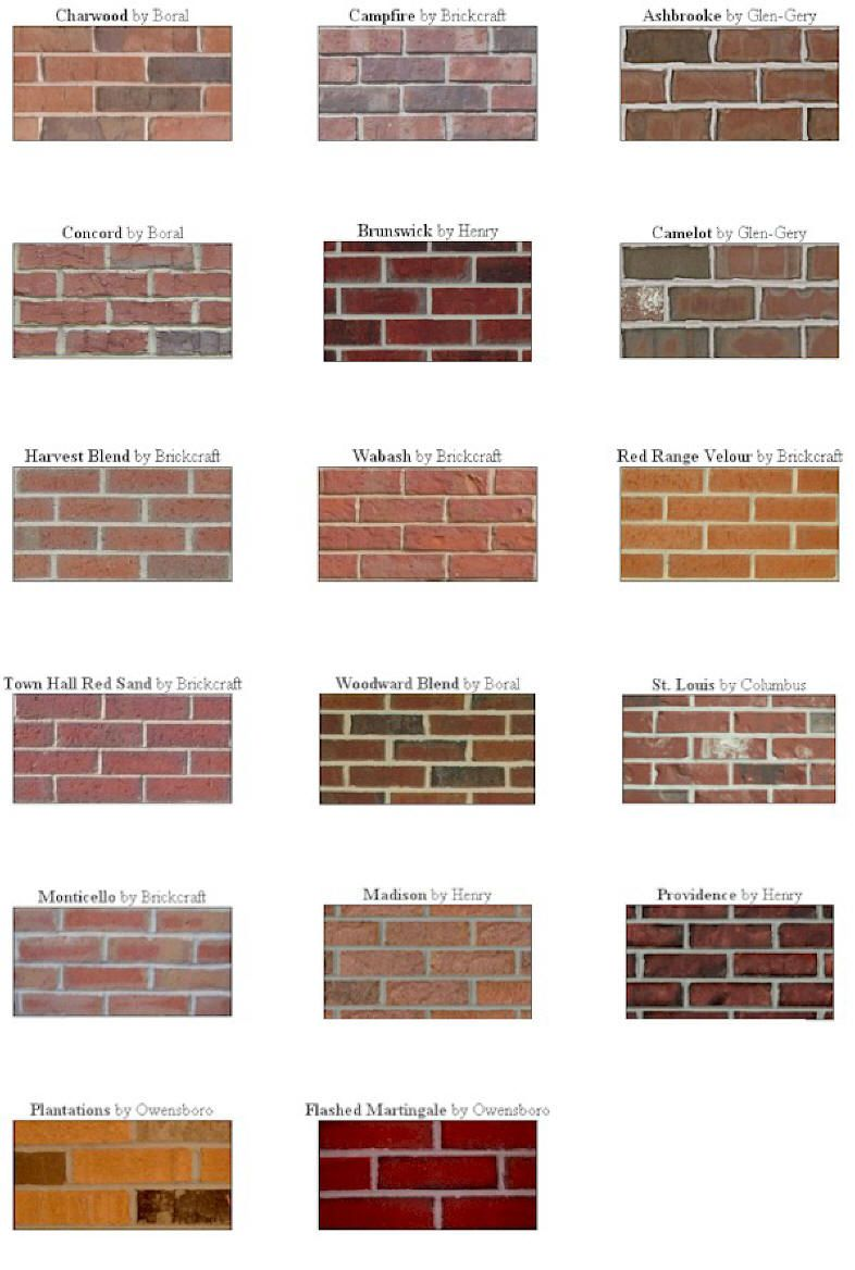 types of brick work google search architectural