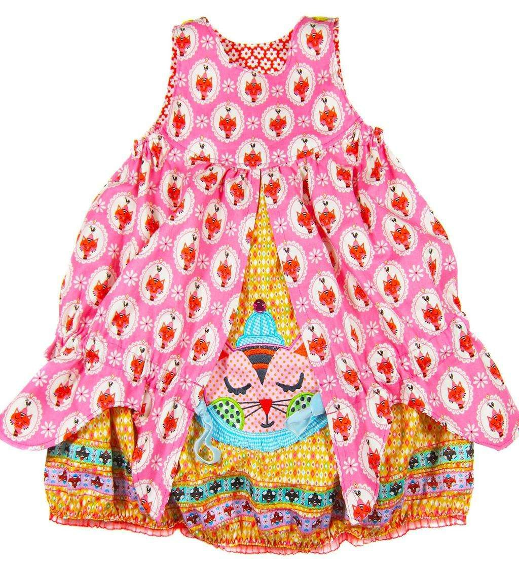 CARA, Ballonkleid, Schnittmuster   Kinder kleider ...