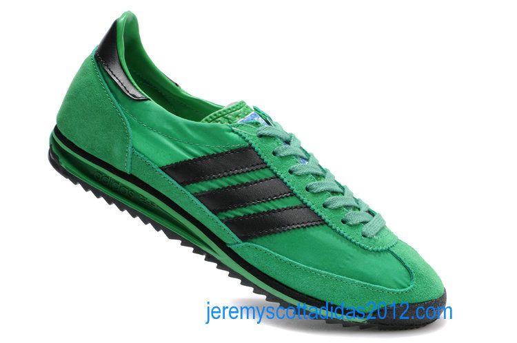 implicar cuscús saludo  Adidas SL 72 Vintage 1972 Mens Power Green Black 909715   Men style   Adidas  sneakers, Adidas sl 72, Adidas