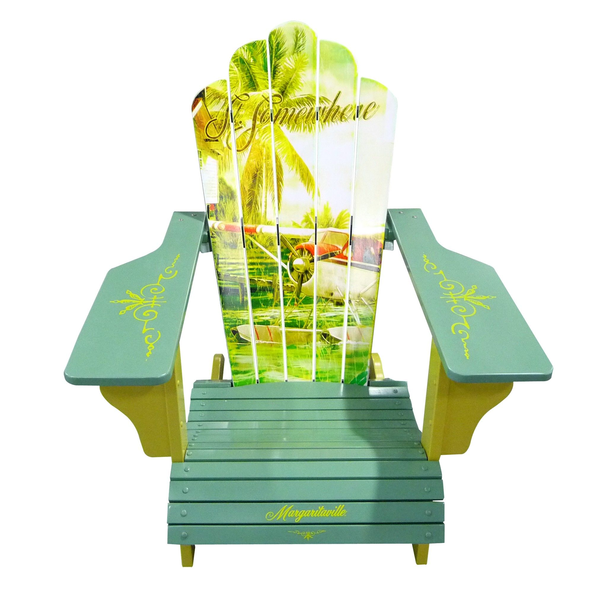 Bring Paradise A Little Closer To Where You Are With The Margaritaville  Adirondack Chair. Description
