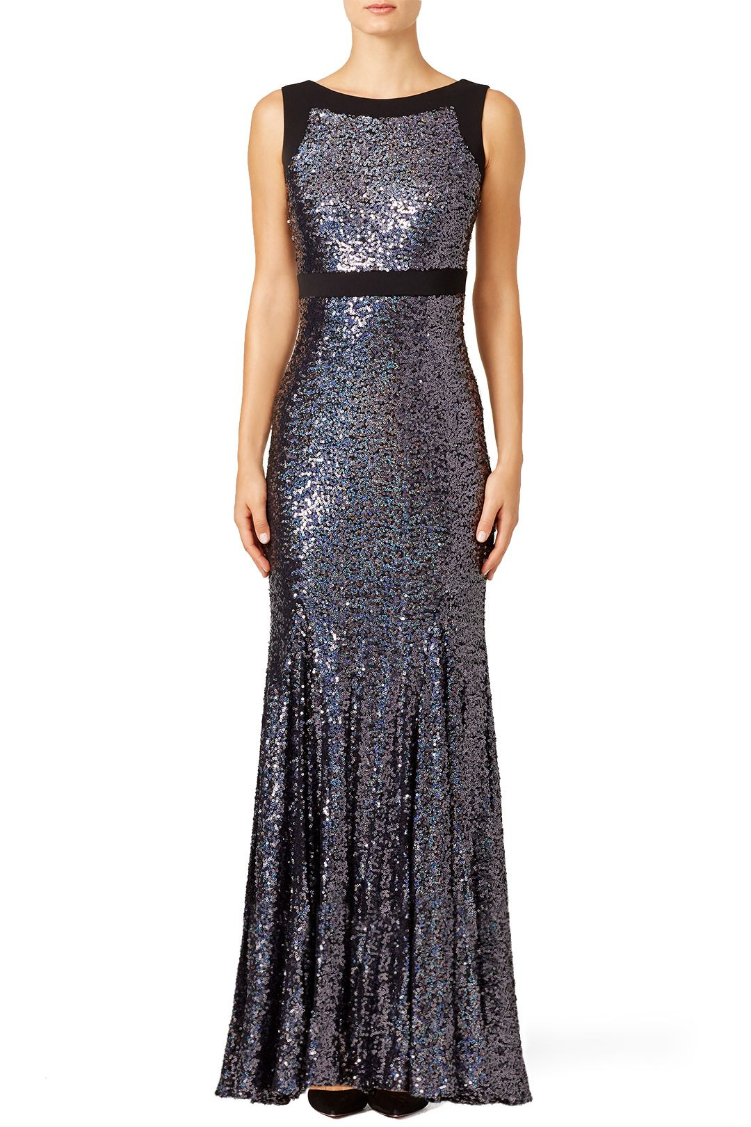 Plum Shine Gown | Pinterest | Badgley mischka, Gowns and Closet clothing