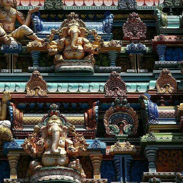Beautiful details of the Hindu Temple in Seychelles. #temple #seychelles #island #architecture #holiday #destination #instatravel #instago #instavisit #travelgram #travelingram #instaholiday #countdownapp #holidayapp #readysetholiday #readysetholidayapp  Photo credits: reibai on Flickr