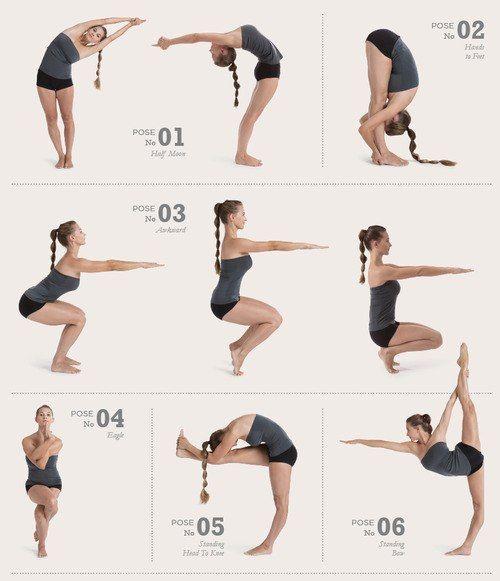 Mejorar La Flexibilidad Y Fortalecer La Espalda Posturas De Bikram Yoga Ejercicios De Elasticidad Ejercicios Para Flexibilidad