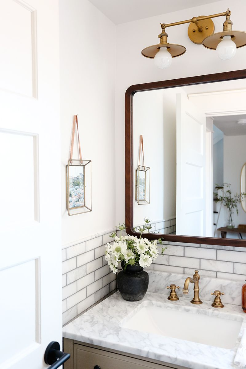 Evergreen House Guest Bathroom Reveal Evergreen House Guest