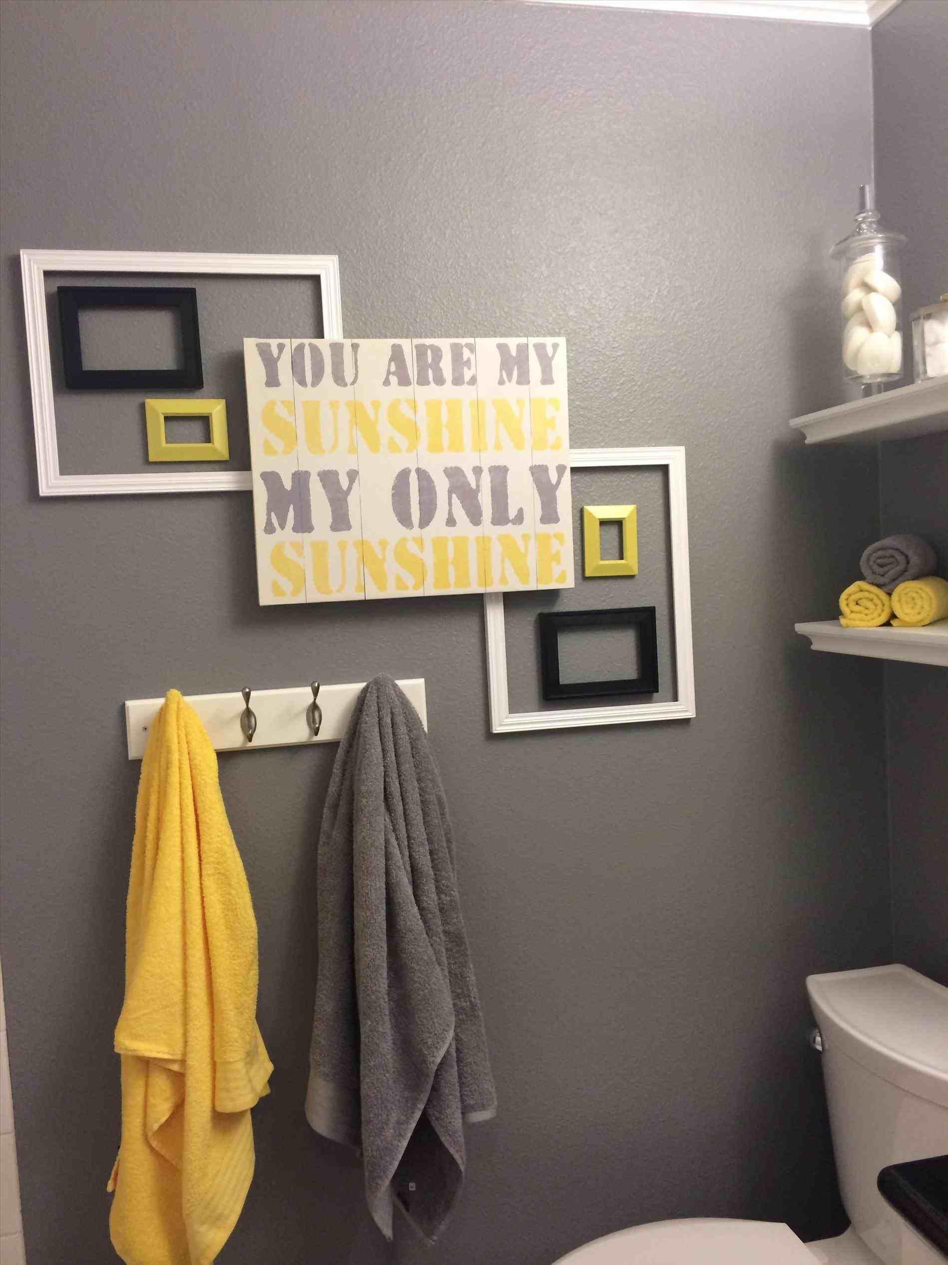 New Post Gray And Yellow Bathroom Decor Visit Bathroomremodelideassclub