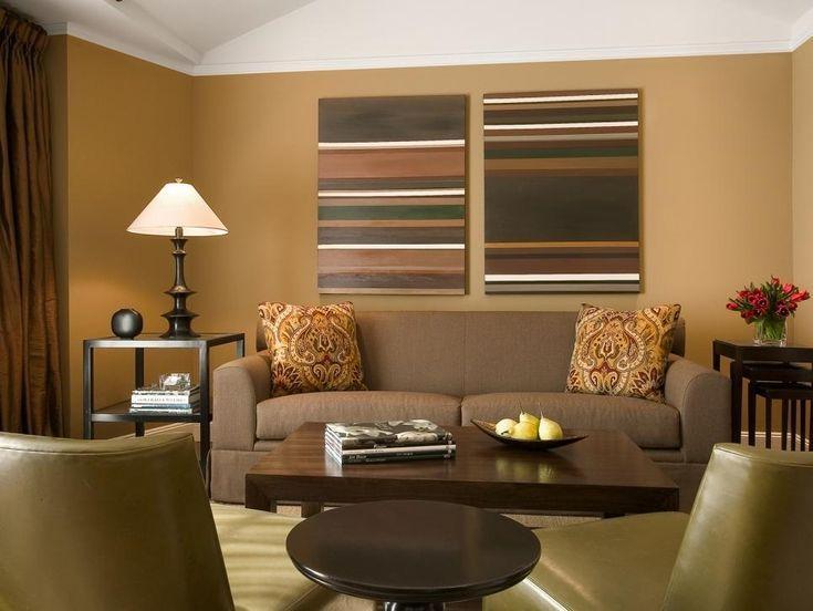 Wohnzimmer Farbe Farbkombinationen #beige #orange #blau ...