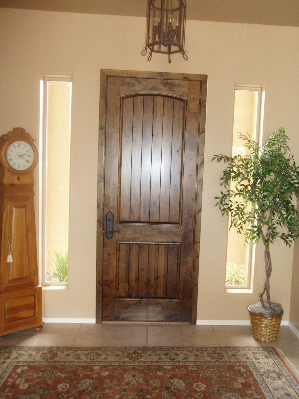 Knotty Alder Wood Door By Shapira Builders My Work In 2019