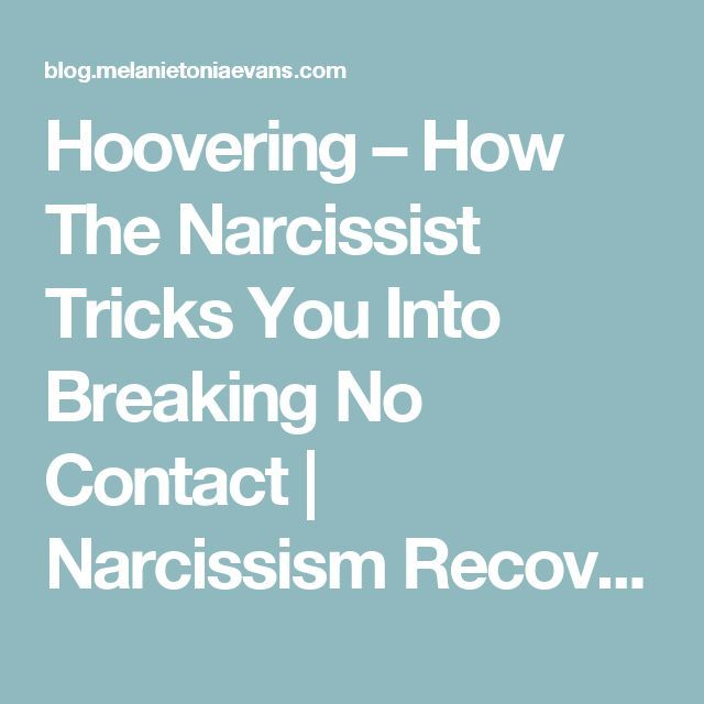 Contact React How No Narcissists To