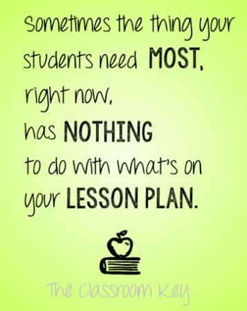 My Favorite Desk Arrangement and other Back to School Wisdom - what is a lesson plan and why is it important