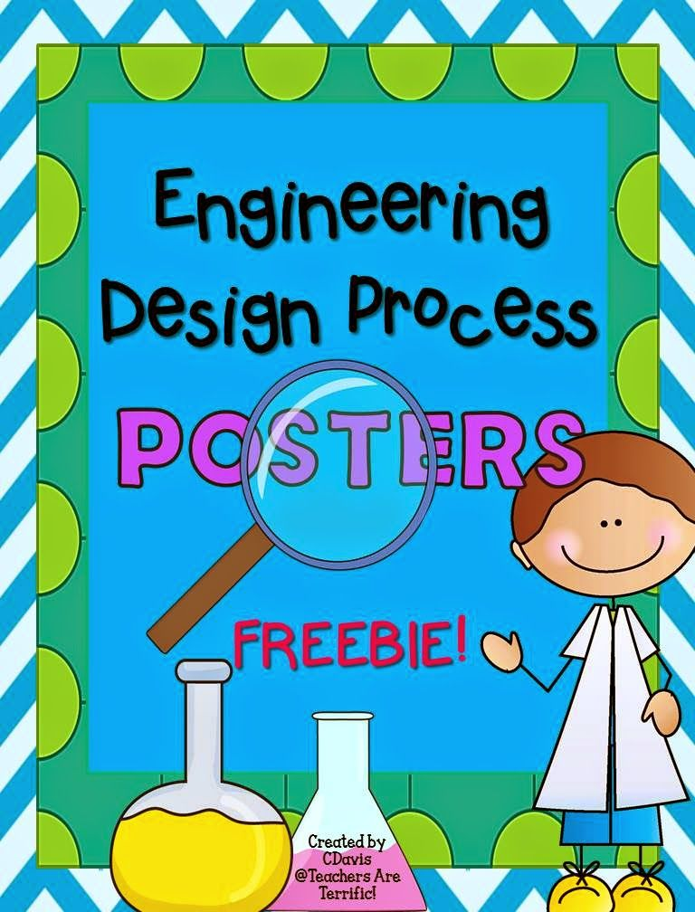 Engineering Design Process Posters Freebie Engineering Design