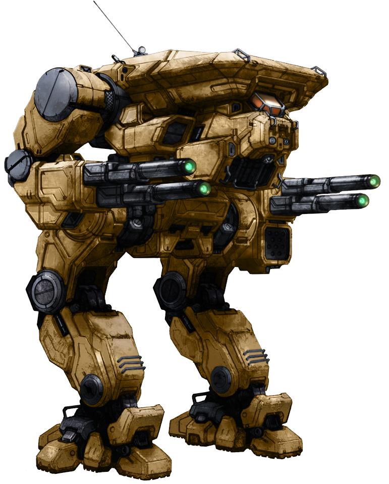 Mwo Warhawk Masakari Template By Odanan Battletech Robot