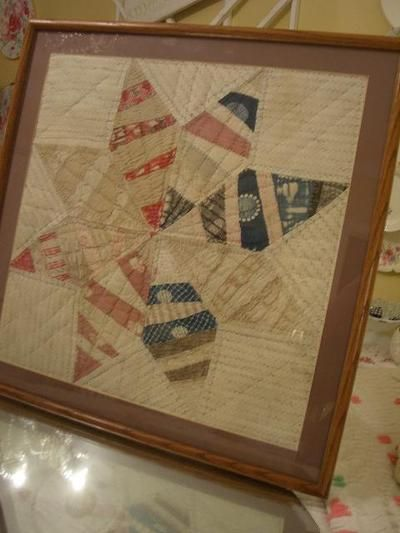 The Market At Cherry Hill Cottage Quilt Display