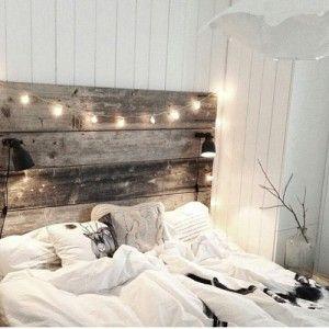 Romantisches und gemütliches Schlafzimmer ganz nach meinem Geschmack ...
