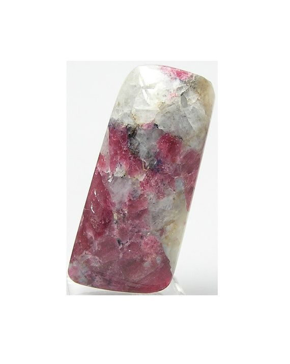 Eudialyte Rare Red Stone Cabochon 35 carats Free by FenderMinerals,