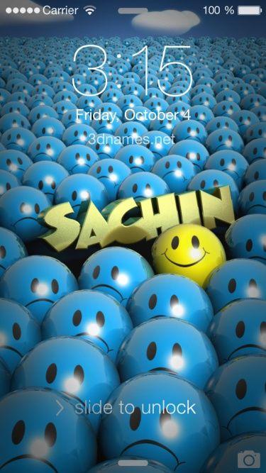 Sachin name wallpaper download