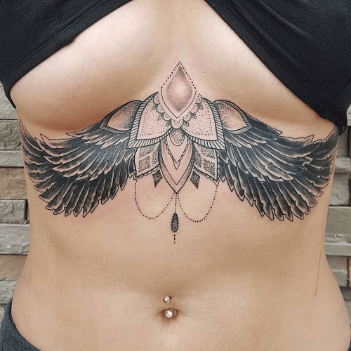 Tattoos For Women Large Tattoosforwomen Chest Tattoos For Women Tattoos For Women Belly Tattoos