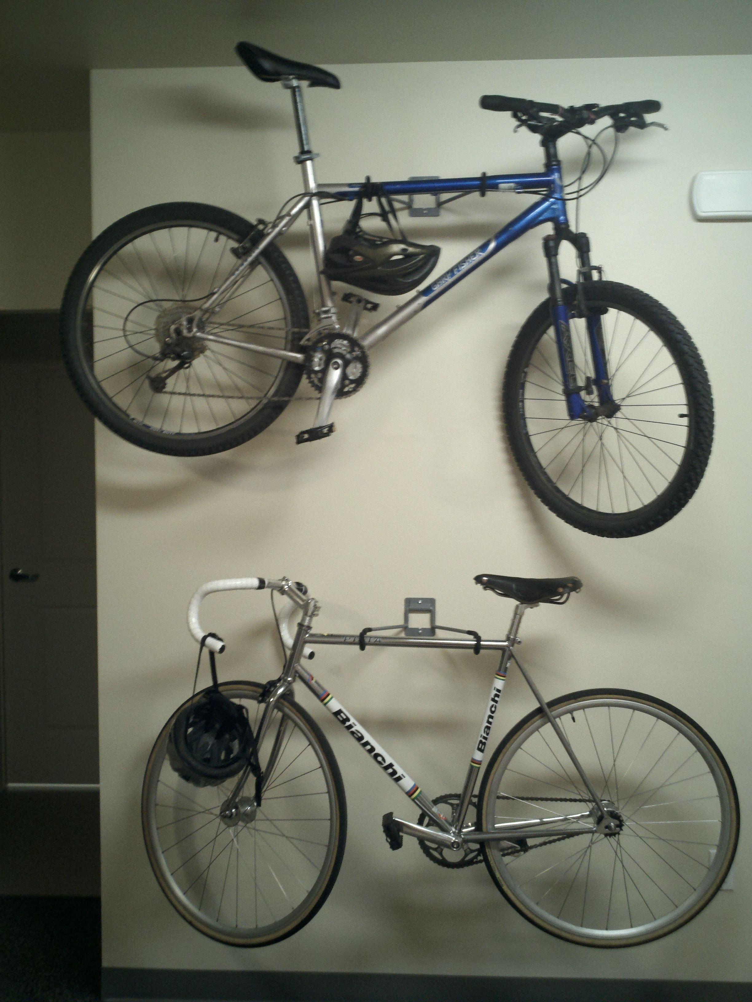 Functional Art Is Rad Bike Hangers Courtesy Of Lowes Bike
