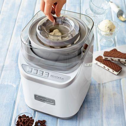 Cuisinart Gelateria Ice Cream Maker Available At Surlatable Ice Cream Maker Recipes Vanilla Rival Ice Cream Maker Ice Cream Maker Recipes