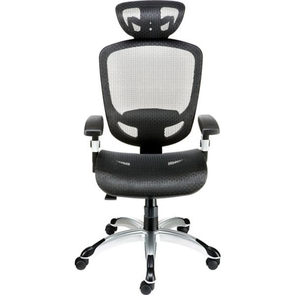 Hyken Mesh Task Chair, Black (23481-CC) (With Images